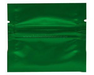 Bolsa de sello lateral verde de 1gm