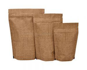 Bolsas de alta barrera con apariencia de yute
