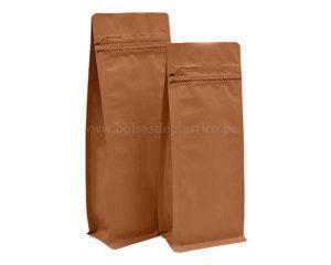 Bolsas de papel kraft con cremallera