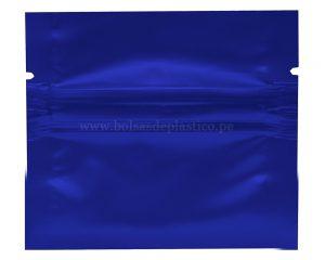 Bolsa de sellado lateral azul de 1 gm