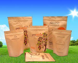 Bolsas impresas biodegradables