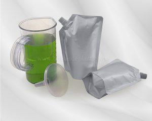 Bolsas con boquilla