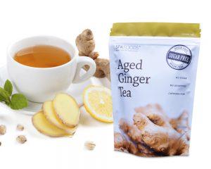 Embalaje de té orgánico